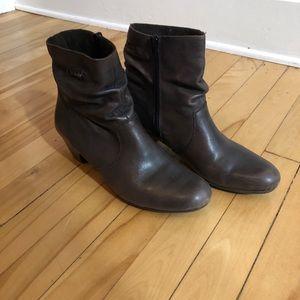 Rieker Leather booties